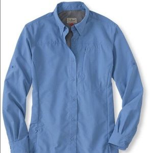 LL Bean Men's No Fly Zone Shirt